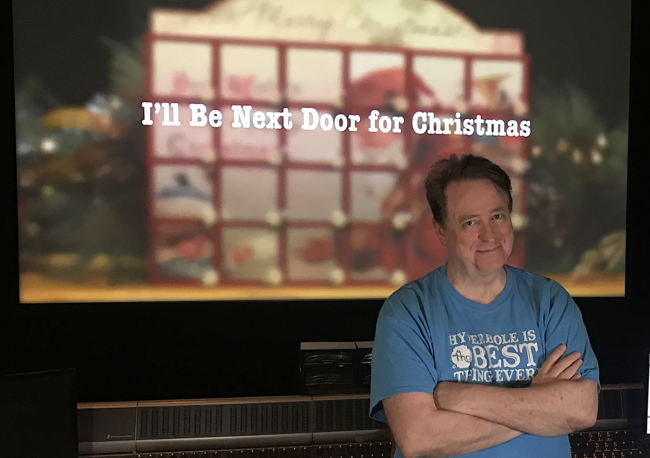 Ill Be Next Door For Christmas 2020 That Christmas Movie: The World's first Christmas movie made by