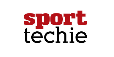 Large cropped sport techie logo